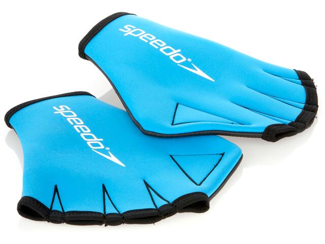 speedo Aqua Gloves Unisex blue